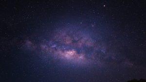 mount bromo starry sky
